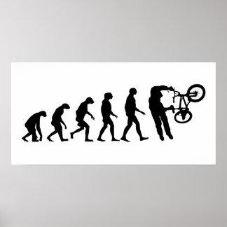 Poster Évolution de BMX