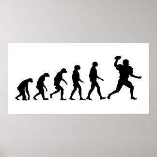 Poster Évolution du football