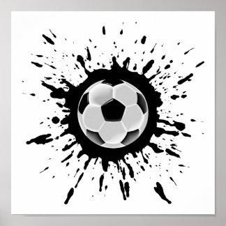 Poster Explosion du football