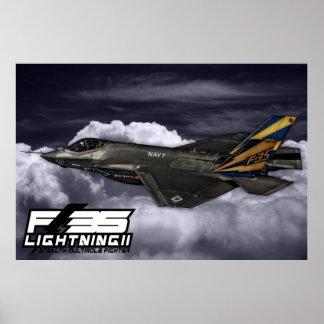 Poster F-35 foudre II