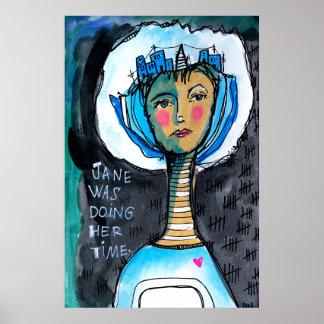 Poster Faire le temps Jane