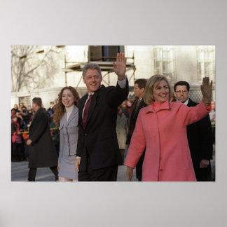 Poster Famille de Clinton