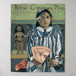 Poster Fan de musique de la Nouvelle-Orléans
