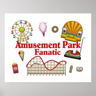 Poster Fanatique de parc d'attractions