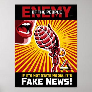 Poster Fausses nouvelles