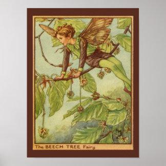Poster Fée d'arbre de hêtre par le studio de vision