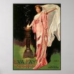 Poster ~ féerique d'Eva la haute prêtresse de la magie de
