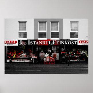 Poster Feinkost d'Istanbul