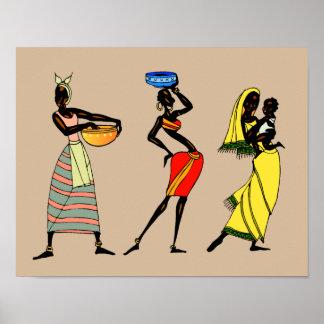 Poster Femmes d'animation du Kenya