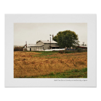 Poster Ferme amish