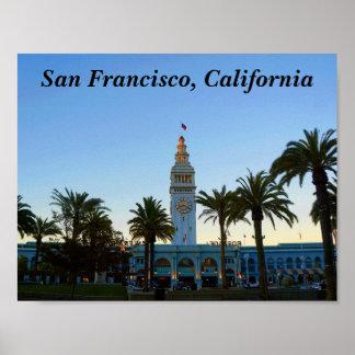 Poster Ferry de San Francisco construisant l'affiche #11