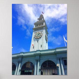 Poster Ferry de San Francisco construisant l'affiche #18