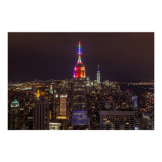 Poster Fierté d'Empire State Building