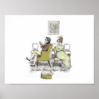 Poster Fierté et préjudice - M. et Mme Bennet