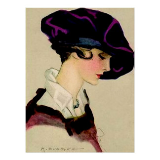 "Poster Fille d'illustration de Marcello Dudovich ""dans le"