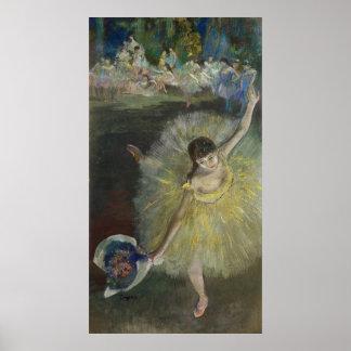 Poster Fin d'Edgar Degas | d'un arabesque, 1877