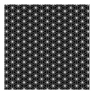Poster Fleur de la géométrie sacrée de la vie