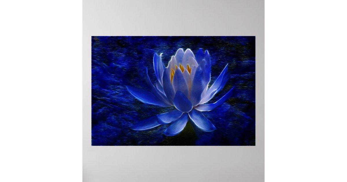 poster fleur de lotus et sa signification. Black Bedroom Furniture Sets. Home Design Ideas
