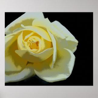 Poster Fleur jaune