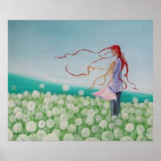Poster Fleurs d'haleine