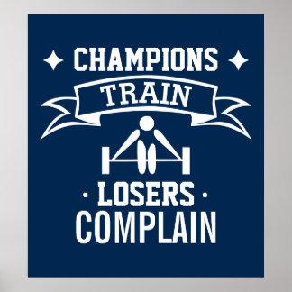 Poster Forme physique de motivation de la motivation | de