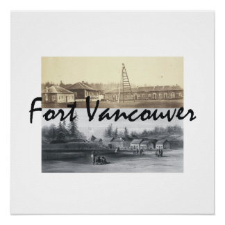 Poster Fort Vancouver d'ABH