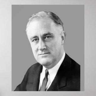Poster Franklin Delano Roosevelt