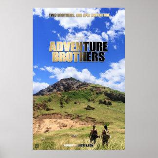 Poster Frères d'aventure