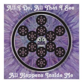 Poster Fruit d'affiche de bénédiction de Psion de la vie