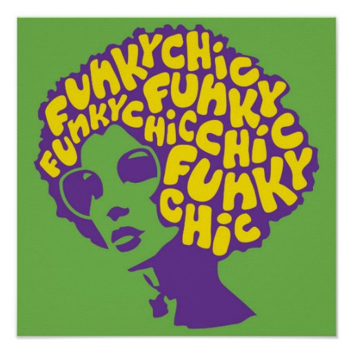 Poster Funky Chic