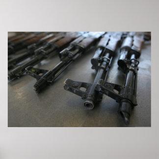 Poster Fusils d'assaut d'AK-47