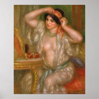 Poster Gabrielle au miroir
