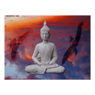 Poster Gautama Siddhartha Bouddha