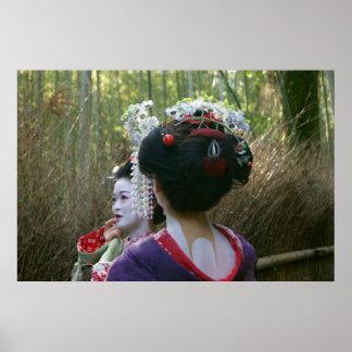 Poster Geisha
