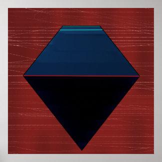 Poster géométrique