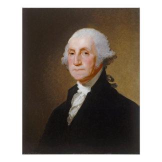 Poster George Washington, c.1821 (huile sur la toile)