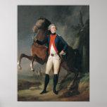 Poster Gilbert Motier Marquis de la Fayette, 1788