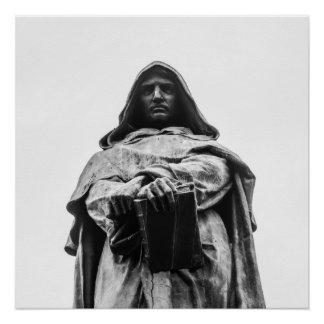Poster Giordano hérétique Bruno