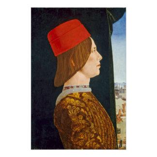 Poster Giovanni II Bentivoglio, C. 1474 - 77