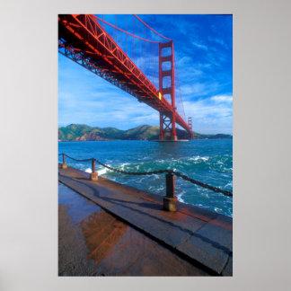 Poster Golden gate bridge, la Californie