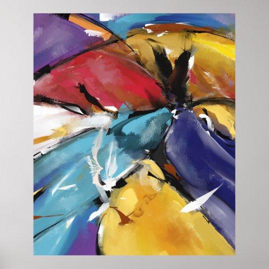 """Poster Grand Modèle 1510 """"L'Aigle et les Colombes"""""""