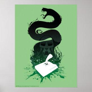 Poster Graphique du journal intime de l'énigme de Harry