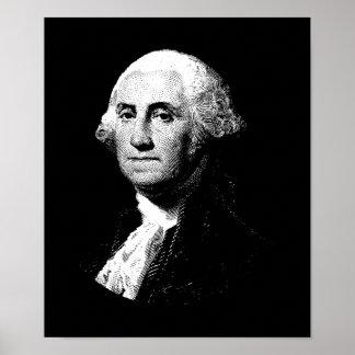Poster Graphique du Président George Washington