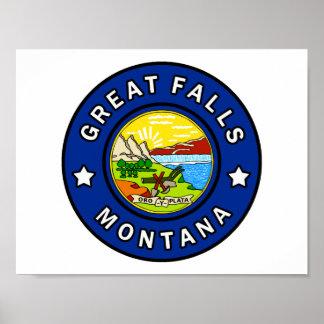 Poster Great Falls Montana