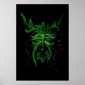Poster Greenman