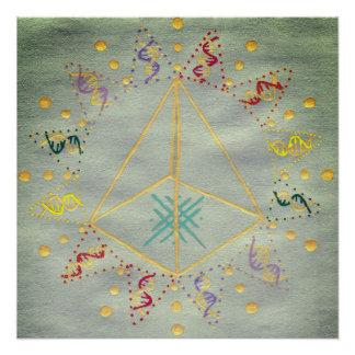 Poster Guérison d'ADN/activation