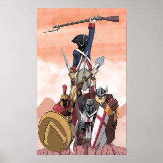 Poster Guerriers de l'ouest