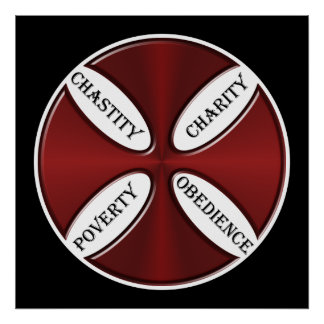 Poster Guides de Templar de chevaliers pendant la vie