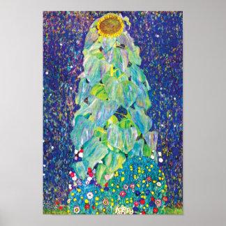 Poster Gustav Klimt - la peinture de beaux-arts de