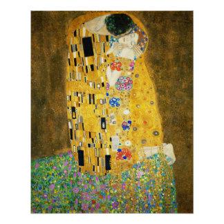 Poster Gustav Klimt la peinture vintage de Nouveau d'art